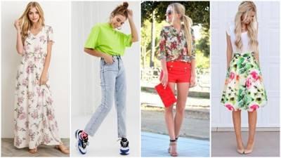 Модные оттенки весна-лето 2020