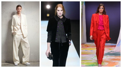Красивые женские костюмы и модные тренды 2020